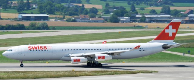 Swiss Airbus A340-3