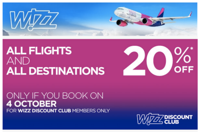 wizz-20-off-october-4th-2