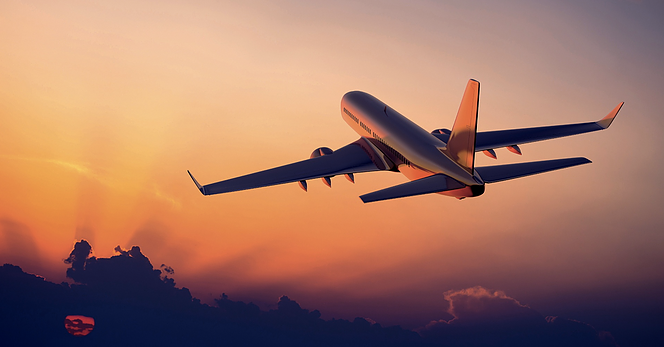 plane-with-sunset
