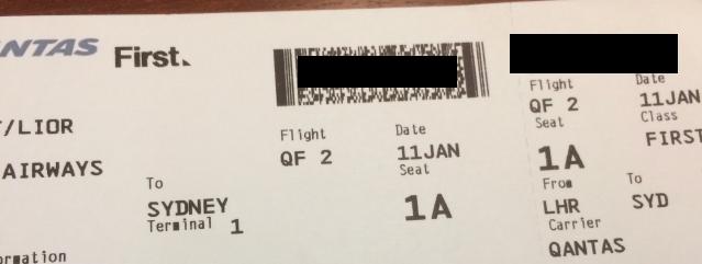 Qantas First Class Ticket 1A.png