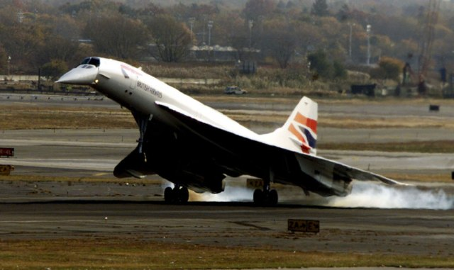 BA1 Operated by the Concorde