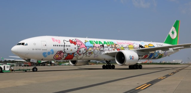 EVA Air Hello Kitty 2