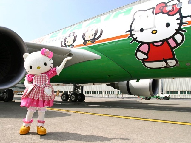 EVA Air Hello Kitty 3