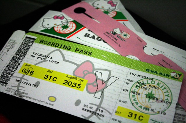 EVA Air Hello Kitty 4