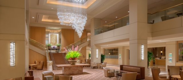 Hilton LAX Lobby