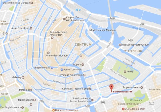 HR Amsterdam Location