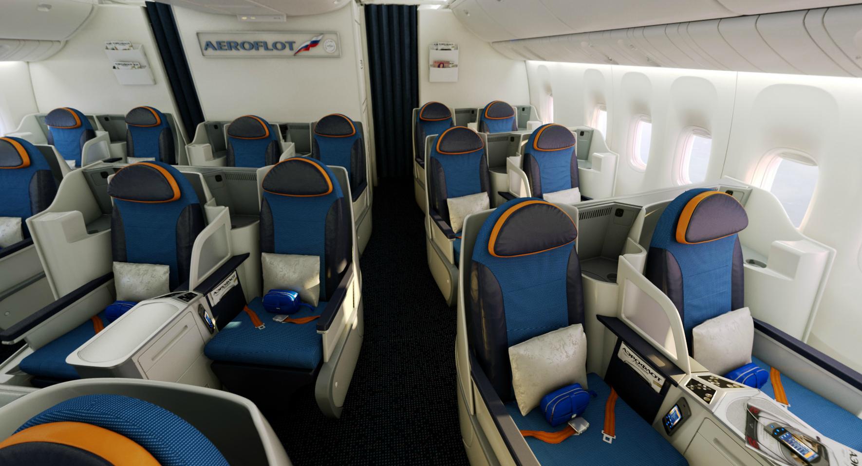 Aeroflot 77W Business Class