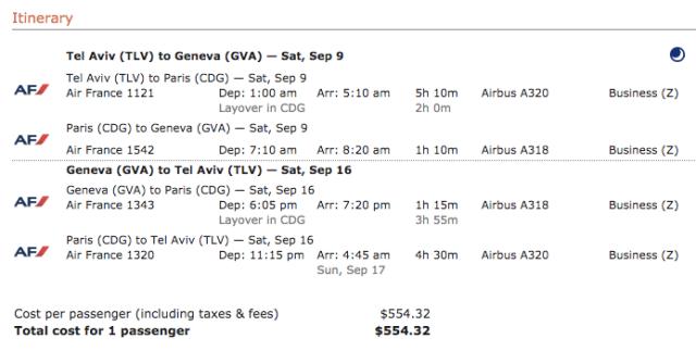 AF TLV-GVA Business 555$