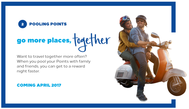 Hilton Points Pooling 2