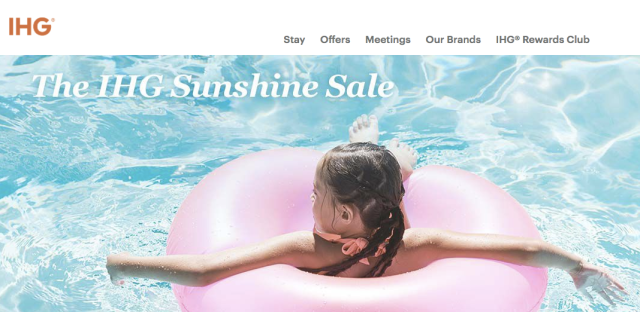 IHG Sunshine Sale - April 2017