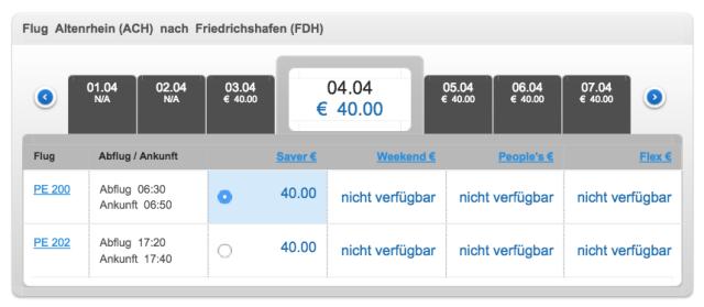 People's Viennaline Buy Ticket