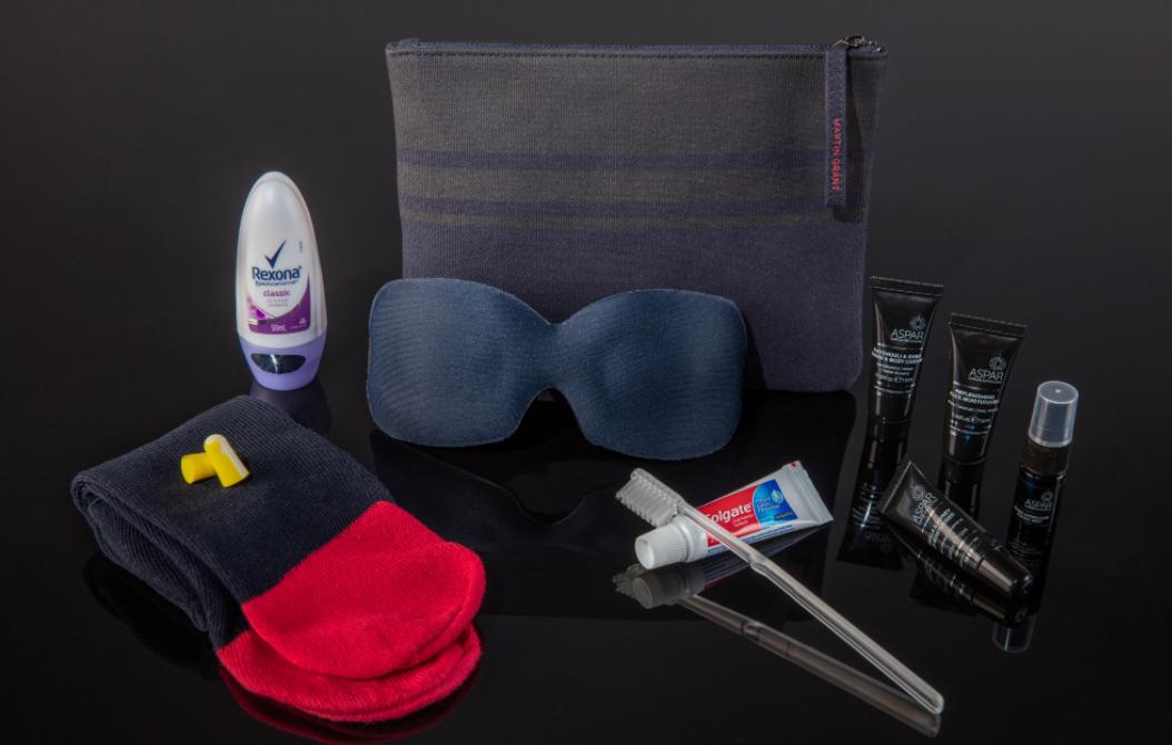 Qantas First Class Amenity Kit