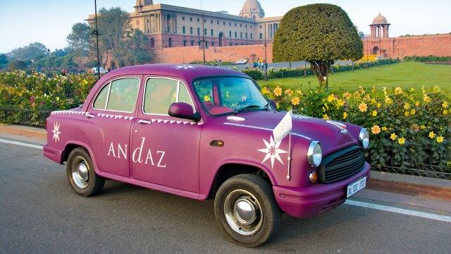 Andaz Delhi Ambassador Car