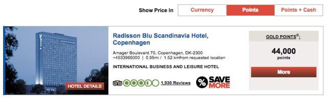 Radisson Blu Copenhagen