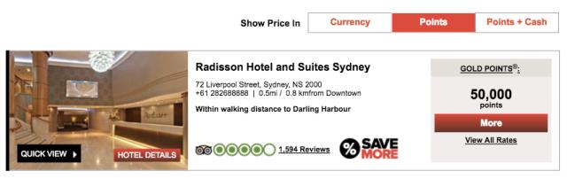 Radisson Suites Sydney