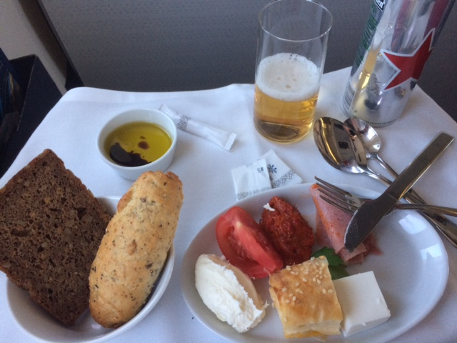 Air Serbia Meal