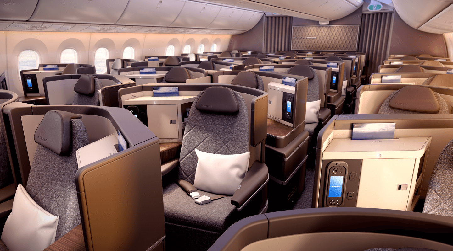 ElAl Dreamliner Business Class 2