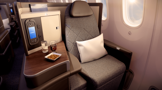 ElAl Dreamliner Business Class 3