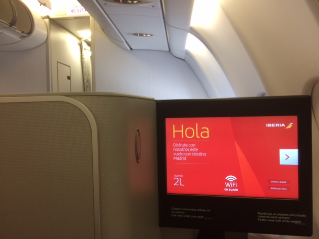 Iberia Flight PES