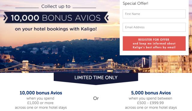 Kaligo Earn Avios