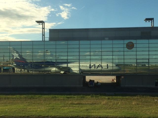 LAN Plane in Frankfurt
