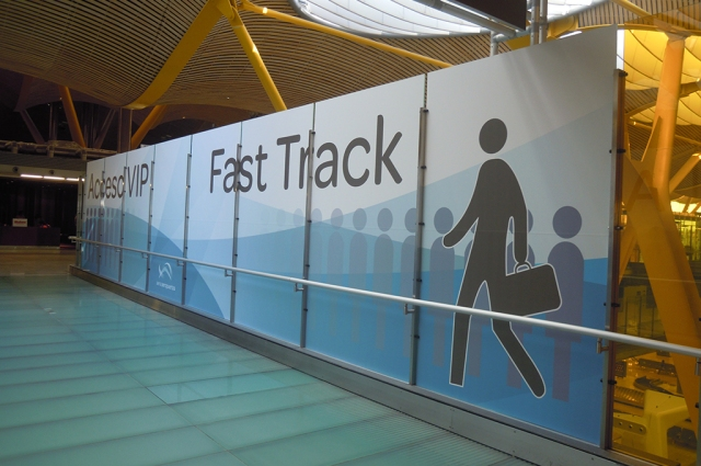 Madrid Airport Fast Track