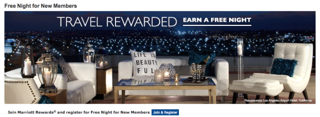 Marriott Rewards New Members Bonus