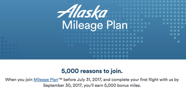 MileagePlan 5K Welcome Bonus