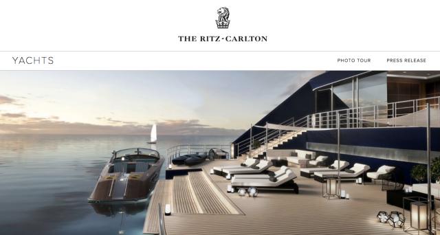 Ritz Carlton Yachts