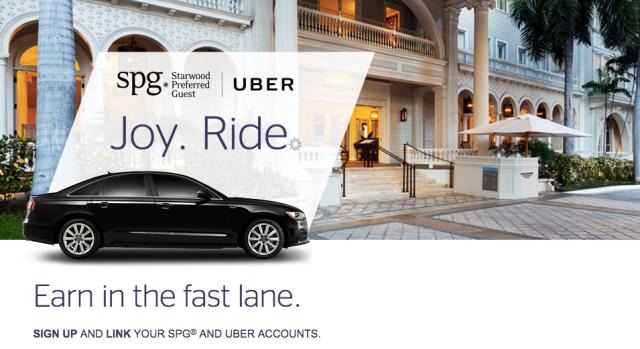 SPG and Uber
