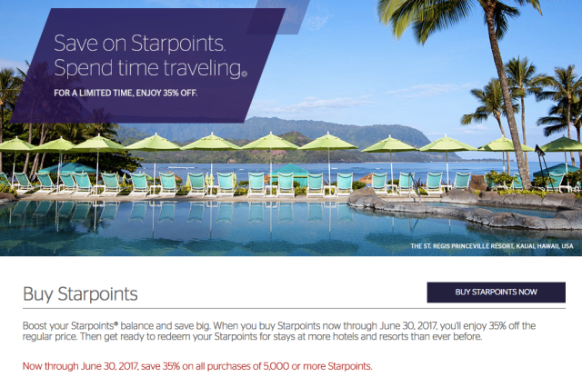 SPG Buy Points - June 2017