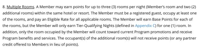 Multiple Rooms - Hyatt T&C