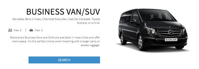 Blacklane Business Van:SUV