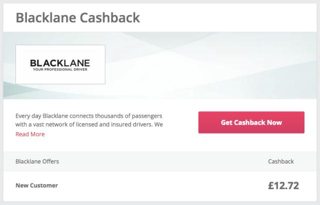 Blacklane Cashback