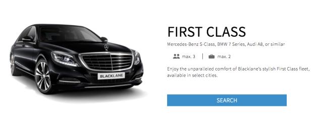 Blacklane First Class