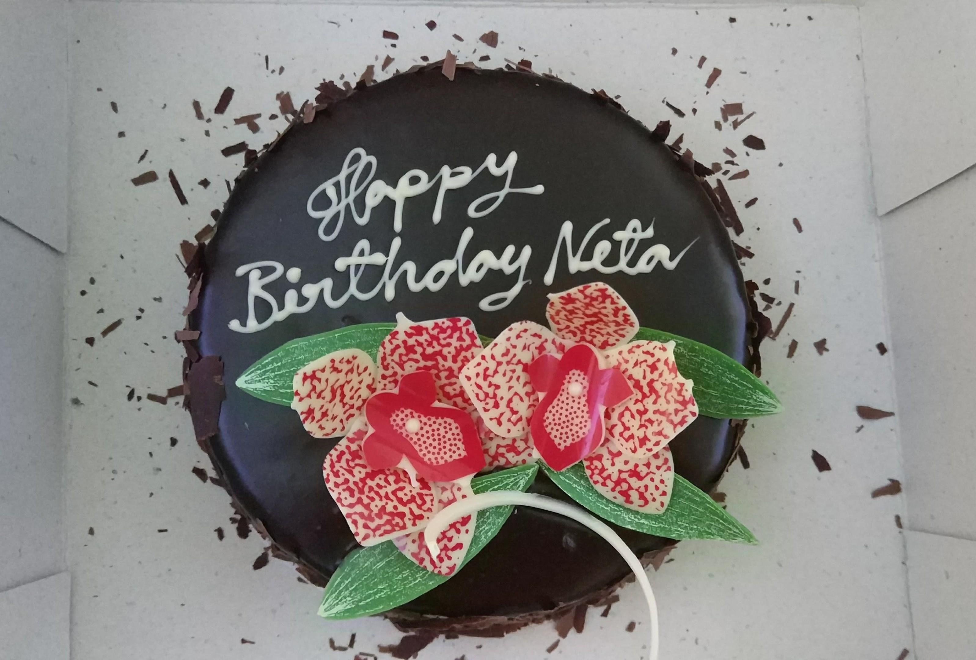 Cathay Pacific Birthday Cake