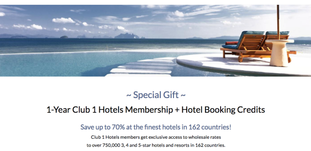 Club1Hotels Free Registration 1