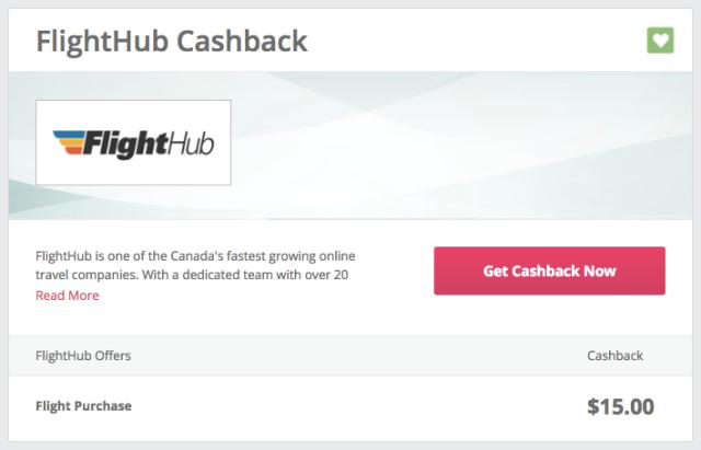 FlightHub Cashback