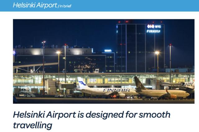 Helsinki Airport Ad