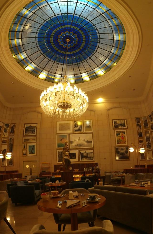 Ritz Budapest Lobby Lounge