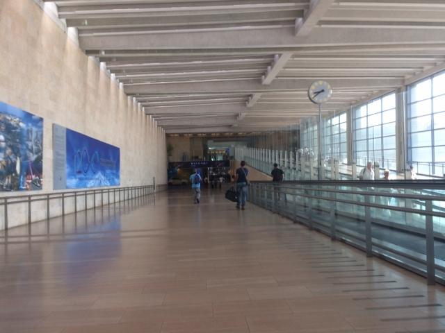 TLV Airport Walkway