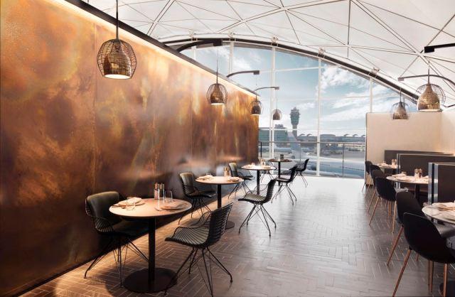 Amex Lounge HKG 1