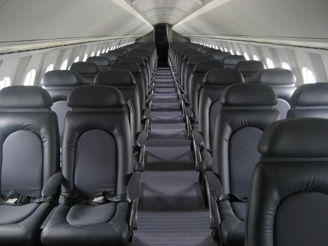 British Airways Concorde Interior