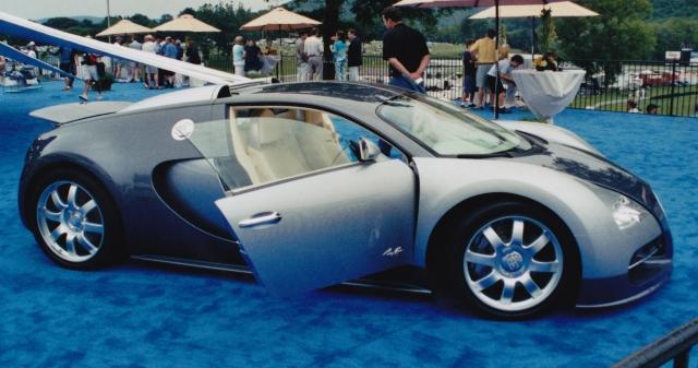 Bugatti Veyron in 2003