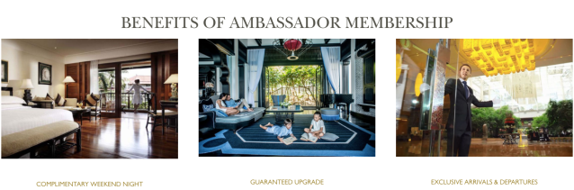Ambassador Program Benefits