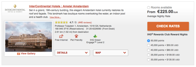 IHG MasterCard @ IC Amsterdam