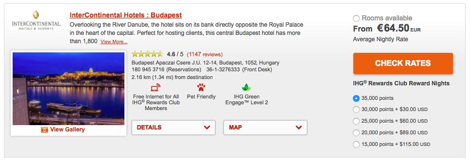 IHG MasterCard @ IC Budapest