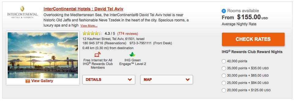 IHG MasterCard @ IC Tel-Aviv