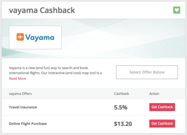 TCB Vayama Cashback - Nov17