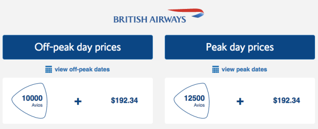 BAEC LHR-TLV Award Price